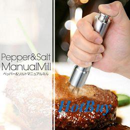 Mini Portable Stainless Steel Pepper Grinder Mill Mull #1782
