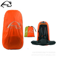 Wholesale Freeshipping pc Travel Camping Backpack Rain Cover Bag Water Resist Proof Backpack Waterproof Cover L