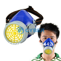 Wholesale New Respirator Safety Anti Dust Chemical Spray Paint Single Cartridge Gas Mask TK0857
