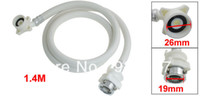 Cheap Automatic White 1.4M Washer Washing Machine Water Inlet Hose Pipe Tube
