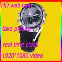 Wholesale Watch Camera Waterproof Watch Camera P IR Night Vision GB Spy Hidden Camera