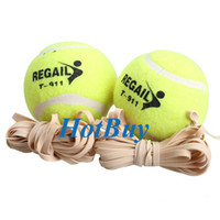 Wholesale Sports Tennis Training Ball Trainer Exercise Ball with Rubber Rope