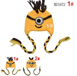 Handmade Children Hat Newborn Baby Crochet Beanie Toddler Knitted Animal owl Hat Free Shipping