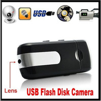 Wholesale Spy Camera HD Mini USB Disk Spy Cmera DVR Motion Detect Camera Cam Hidden Camera