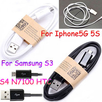 Iphone5 5S 5C Data line Note 2 HTC USB Data line Iphone Samsung DHL 100pcs V8 Charger Cable for Samsung Galaxy S3 S4 HTC 1m 3ft Sync Charging Cord Lead New 8 Pin USB data Line for iPhone 5 itouch5 5S 5C