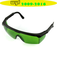 Wholesale nm Anti Laser Safety Glasses Eye Protection glass green Lens
