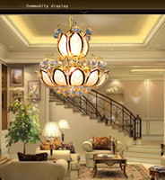 Wholesale Hot Sale European Style Chandeliers Pendant Lamps Indoor Lighting Modern Brief and Luxury Bedroom Light V Not Include Light Source