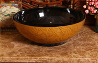 Wholesale ceramic wash basin vessel sinks bathroom
