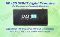 Cheap Free-shipping! Mobile Digital Car DVB-T2 H.264 MPEG4 HD Tuner Digital TV Receiver Box set top DVB-T2 (HD SD), HDMI Car TV tuner