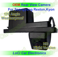 Car Camera auto ssangyong - HD Rear View Ssangyong Rexton Kyon CCD night vision car reverse camera auto license plate light camera