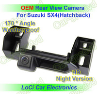 Wholesale HD Rear View Suzuki SX4 Hatchback CCD night vision car reverse camera auto license plate light camera