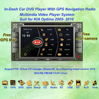 Wholesale 2005 KIA Optima Car DVD Player with GPS Navi Multimedia Video Radio Player system Free GPS map