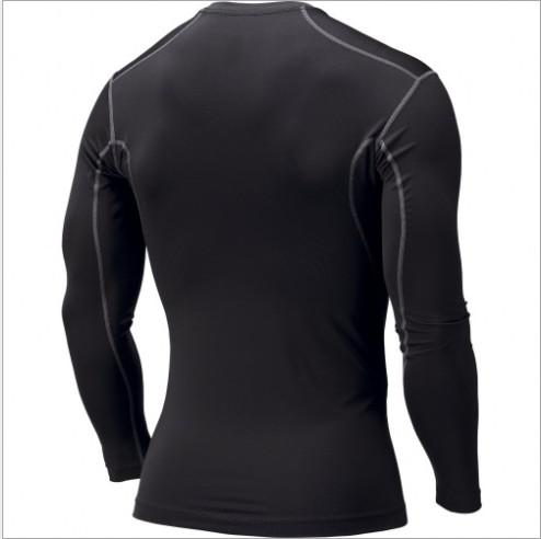 Mens PRO manches longues Sports Bases de compression Couches Chemises Skins Port