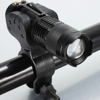 1000lm bicycle torch mount - UltraFire lm CREE XM L T6 LED Flashlight Torch Bike Bicycle Light Mount