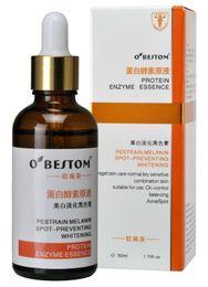 Wholesale Hyaluronic Acid Liquid moisturizing ml Perstrain Melanin Spot preventing Whitening OBEITOM Protein Enzyme Essence Oil control Balance Acid