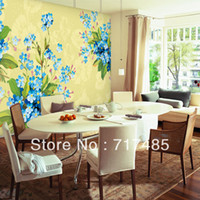 Wholesale Modern chinese style tv background wall mural wallpaper