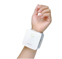 Wholesale ChristmasHot Revolution iHealth BP7 Bluetooth Blood Pressure Wrist Monitor for iPod Touch iPhone and iPad Oscillometric sync amp accurate data