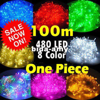 Wholesale m leds one piece christmas party lights fairy string colorful led lights for car tree home decoration