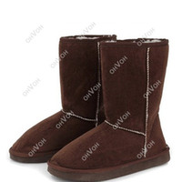 Wholesale S5Q New Autumn Winter Women Lady Snow Boots Warm Fur Shoes AAACPV