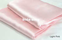 Wholesale Silk Queen Size bed flat sheet bedsheet bedding new luxury Pink Purple Gold Blue White Beige