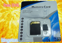 Wholesale GB Class Memory SD Card TF Memory Card micro sd card TF32GB card with Free Retail Blister Package0665021B