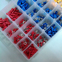 Wholesale 480Pcs Assorted Crimp Terminals Set Insulated Electrical Wiring Connector Kit