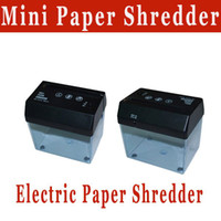 Wholesale Mini Paper Shredder with Letter Opener electric paper shredder