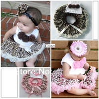 Summer baby dropshipping - Children for the Girls Leopard Baby Girls Dresses Tutu clothing Outfits Years Dropshipping