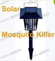 Garden mosquito killer outdoor - LLFA3454 Solar Mosquitoes Killer Lamp Lawn Bug Mosquito Pest Insect Killer Zapper Light Outdoor Garden