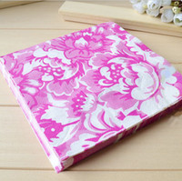 Wholesale 33 cm Beautiful Flower Napkin Tissue Table Wooden Paper Serviettes Party Favors SD146