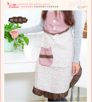 Wholesale Waterproof household kitchen apron fashion and lovely princess cooking apron