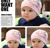 baby bicycle - Baby bicycle cap children s hats infant cap lovely kids hat colors
