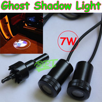 Wholesale car LED Welcome lights W Car Door Led Laser Welcome Projector Light Cree LED shadow light ghost light