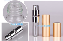Wholesale 6ML Parfum Empty Bottle Easy Fill Travel Perfume Atomizer Refillable Pump Spray portable Bottle Fragrance Deodorant cosmetics Makeup tool