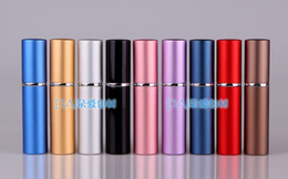 Wholesale 6ML Parfum Empty Bottle Easy Fill Travel Perfume Atomizer Refillable Pump Spray portable Bottle Fragrance amp Deodorant cosmetics jesie06