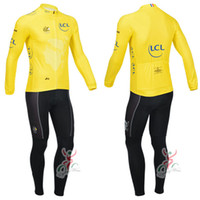 Full Breathable Men New 2013 Tour De France Winter Fleece Thermal Cycling Jerseys & Fleece Thermal Shorts High Quality Cycling Clothing Set Free shipping