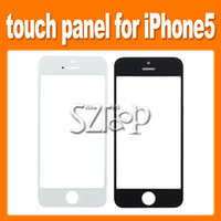 For Apple iPhone Touch Screen  Replacement for Touch Screen Digitizer Front Lens Glass Panel For iPhone 5 5G50 PCS via ePacket(1604002)