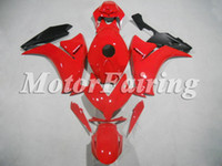 Wholesale Aftermarket Fairings for CBR1000RR CBR1000 RR ABS Plastic bodykits Bright Red Black