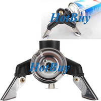 Wholesale Triangle Camping Cookware Stove Adaptor Nozzle Gas Bottle Screwgate Three Leg