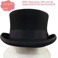 Beanie/Skull Cap texas rangers - New York Top hats Texas ranger felt hat Classic Safari FEDORA for wedding or dance100 wool felt size cm cm white lining and height CM