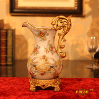 Wholesale ship by EMS Home ceramic vase vintage crack fashion colored drawing vase decoration d069