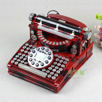 Wholesale ship by EMS Typing machine antique style telephone vintage telephone