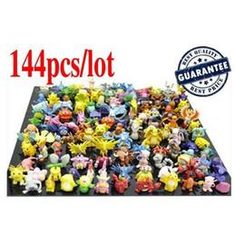 Wholesale New Designer Kids toys cm PVC Mini Pkemon Action Figures Toys For Children