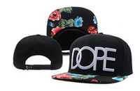Wholesale Dope Snapbacks Caps Black Snap backs Hats New arrive high quality