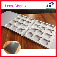 Wholesale 24L optical lenses display case sample box hold of lenses