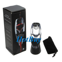 Wholesale Magic Decanter Essential Red Wine Accessories Aerator Set Filter Pouch Gift Box