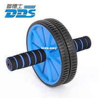 Wholesale Carthan ab abdominal wheel round thin waist roller two wheel ab fitness equipment mute