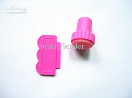 Wholesale DIY Nail Stamper Set Stamping Nail Art Kit Nail Stamp plastic Scraper knife for Image paint Plate Design