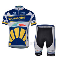 Wholesale 2014 new fashion Outdoor bike clothing Vacansoleil Pro cycling team jacket Ciclismo short sleeves cycling pants cheap cycling jerseys cjs1