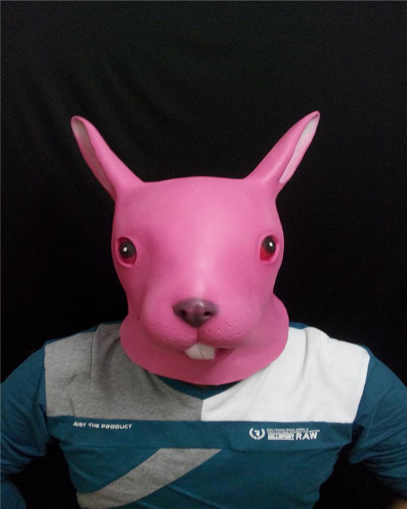 Creepy rabbit masks